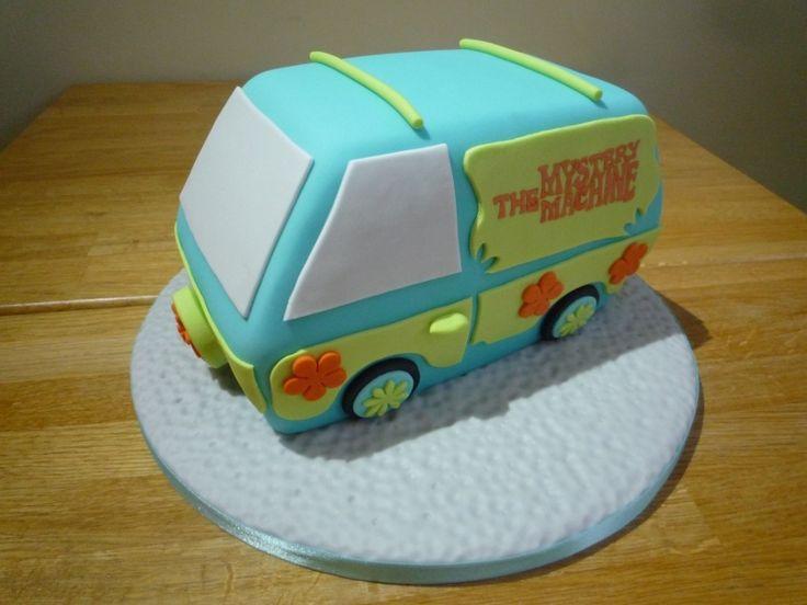 mystery machine cake   Scooby Doo Mystery Machine Cake