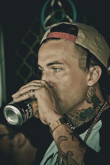 Yellow Wolf Rapper Tattoos
