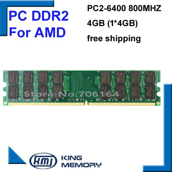 Brand New 4GB DDR2 PC2-6400 800MHz For Desktop PC DIMM Memory RAM 240 pins For A-M-D