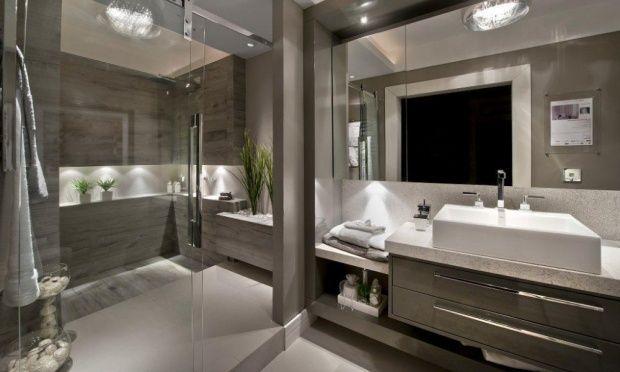 Banheiros chiques e elegantes  Pesquisa Google  Casa, moveis e decoração   -> Banheiros Simples E Elegantes