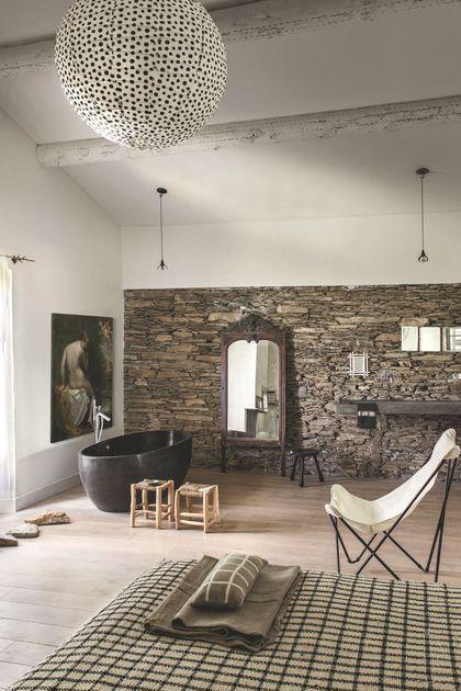 dco bord de mer chic chambre maison salon rustic chic bathroomsminimalist - Rustic Chic Bathroom Decor