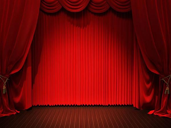 Kate Red Stage Curtain Backdrops For Photography Stage Curtains Red Curtains Stage Background