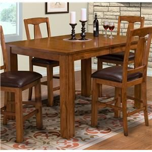 New Classic Rustic Counter Height Table