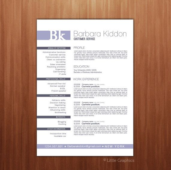 120 best Resumes images on Pinterest Resume design, Design - resume templates for openoffice