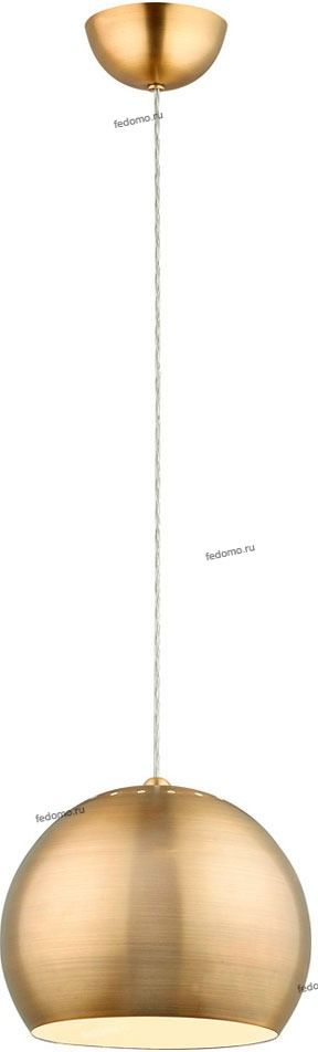 112-01-56B Люстра подвесная N-Light, 1 плафон, бронза