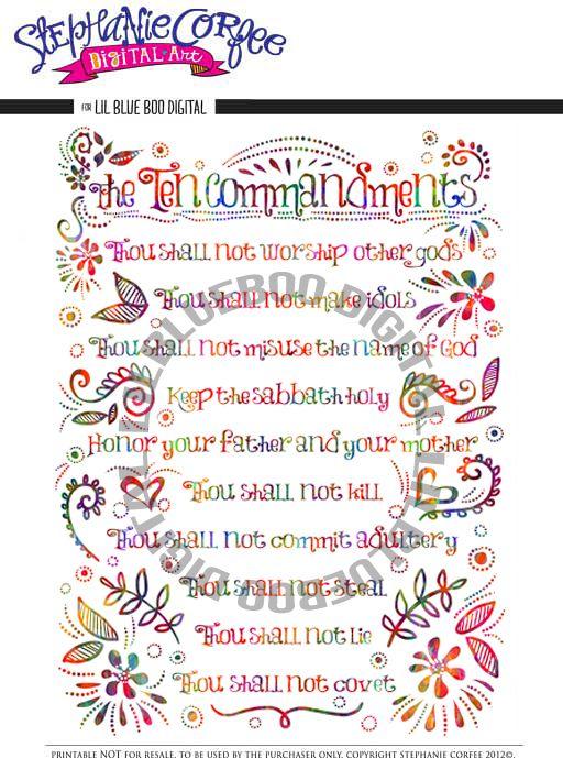 Ten Commandments Quotes: 141 Best Images About Burlap Ideas On Pinterest