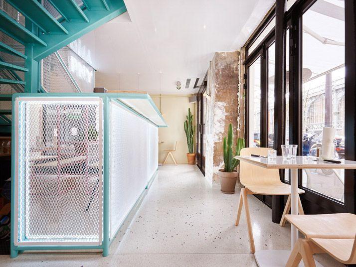 pny restaurant in the marais paris by cut architectures