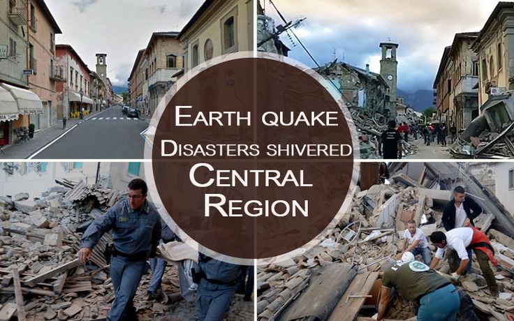 2 Strong Earthquakes Have Strike Central Italy, damaging structures and injuring dozens of individuals,and shivered Central region