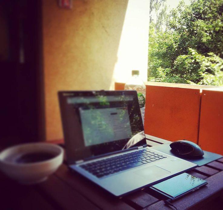 #inst10 #ReGram @life.of.christian: Fu stress make it simple #homeoffice #workhard #playhard #freelancer #cinema #meeting #garden #sun #love #admiral #marketing #business #online #lenovo #blackberry #priv #kino #goodlife #picoftheday #bb #nbg #nürnberg #work #Office #bedifferent #humble #BlackBerryClubs #BlackBerryPhotos