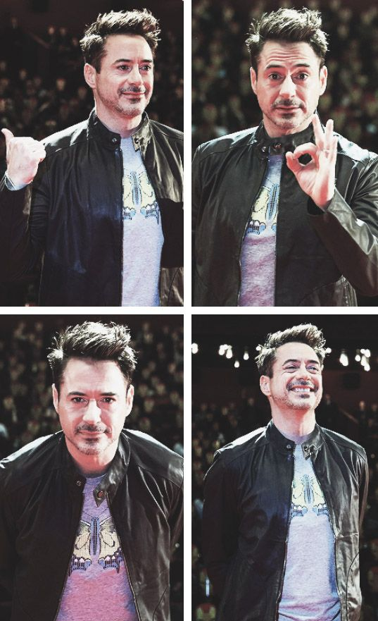 "Robert Downey Jr. in Moscow, ""Iron Man 3"" international press tour.  (That purple butterfly shirt, though...)"