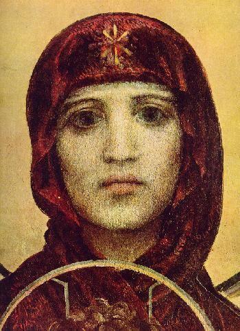 Virgin Mary-Mikhael Vrubel