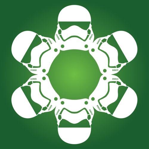 Stormtrooper First Order - Star Wars Snowflake