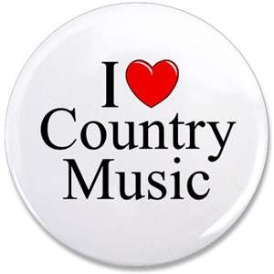 It's true, I do love country music.