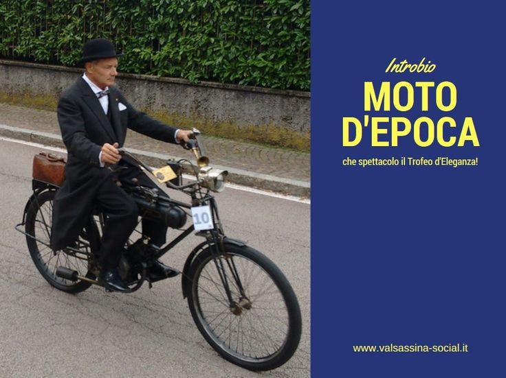 Moto d'epoca a Introbio: è il Trofeo Eleganza Villa MIgliavacca del Moto Club Valsassina