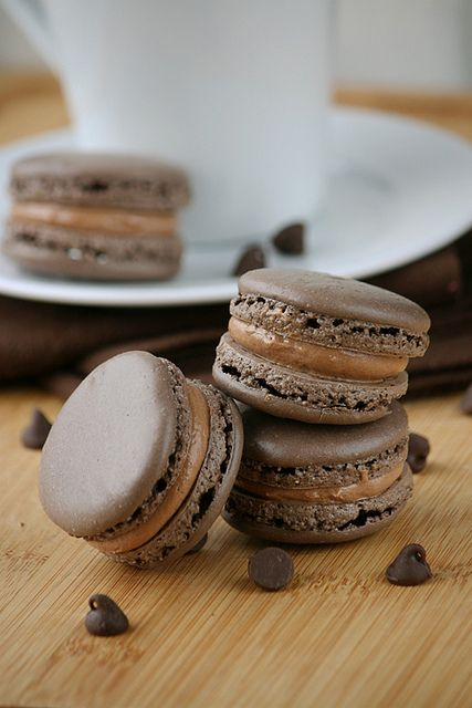 Double Chocolate Macarons (from Whisk Kid)