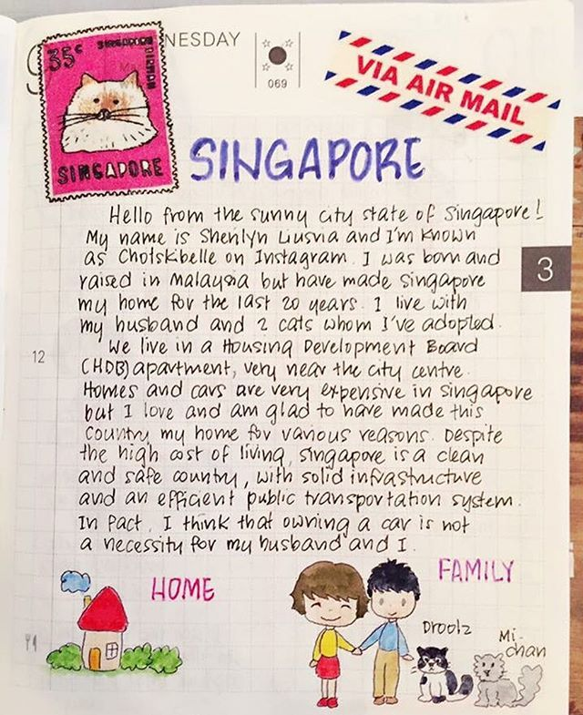 @chotskibelle's entries from Singapore