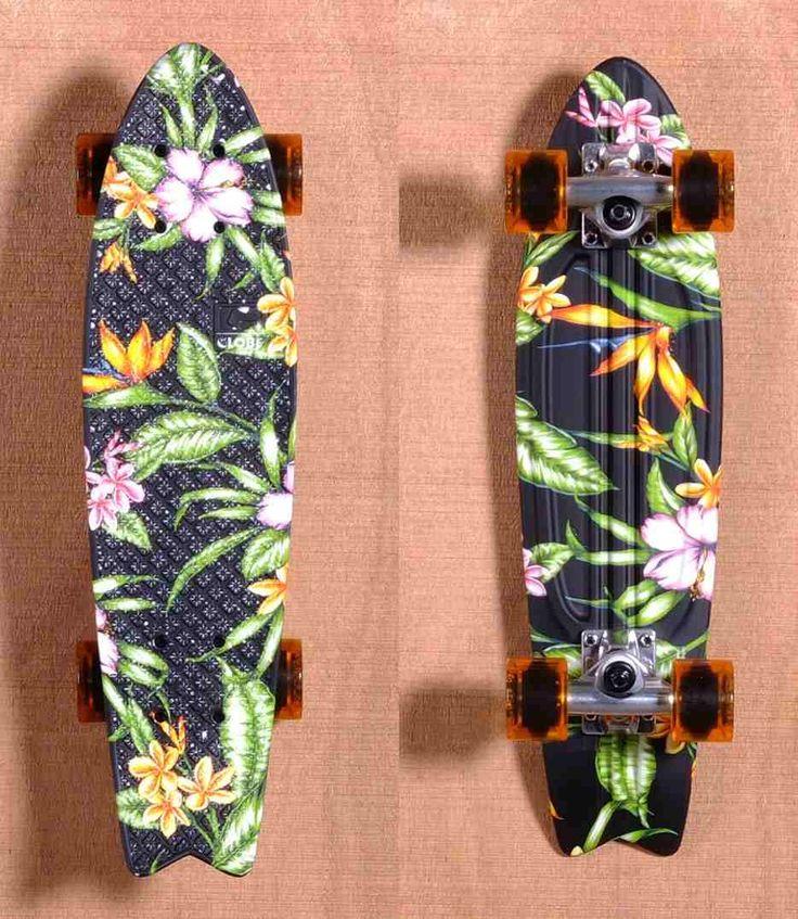 Globe Tropical Penny Board Skating Pinterest
