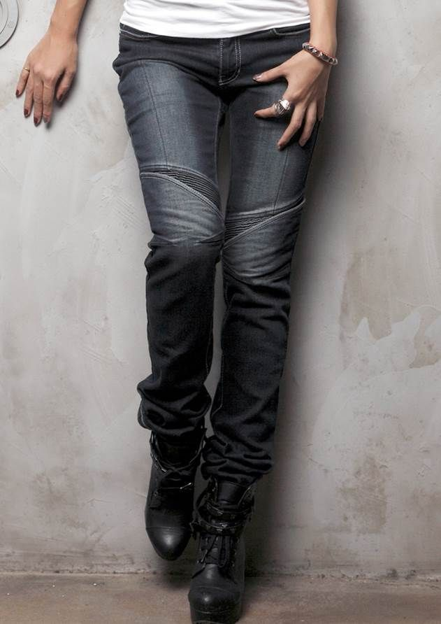 uglyBROS Aegis-K - women's motorcycle jeans with protective gear (protectors & kevlar inner-lining).
