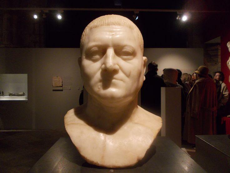 Busto romano - MNA - Março 2016