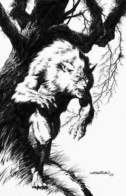 Bernie Wrightson | Wolfman! in 2019 | Bernie wrightson ...