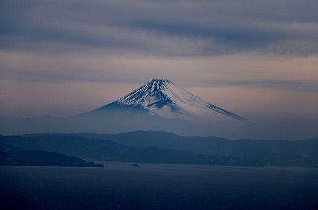 伊豆大島 winter bluesの画像(写真)