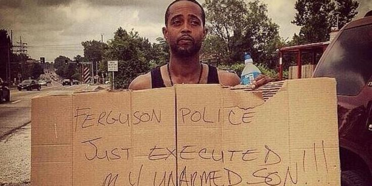 Well your son was an arrogant rebellious punk! I'm sorry he lost his life but sometimes thats the price you pay when you rebel against authority! Also he was attacking the officer trying to get the weapon away from him, let's see what anyone of you all would do when you thought your life was in danger! #Isupportthefergusonpolice