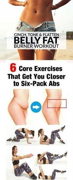 Blast off belly fat before beach season with an four-week workout routine that works your core to exhaustion, sculpting six-pack abs and a super flat stomach. 1. Bodyweight Single-Leg Stretch A. Lie faceup on floor with arms by sides. Curl head and shoulders off floor, then raise extended arms and legs at a 45-degree angle …
