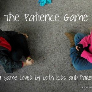 The Patience Game – Character Development Activity