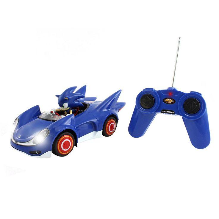Sonic the Hedgehog Remote Control Sonic Car by Nkok, Multicolor
