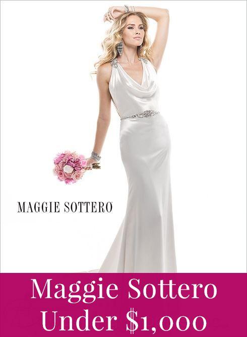 Maggie Sottero wedding dresses under 1,000!