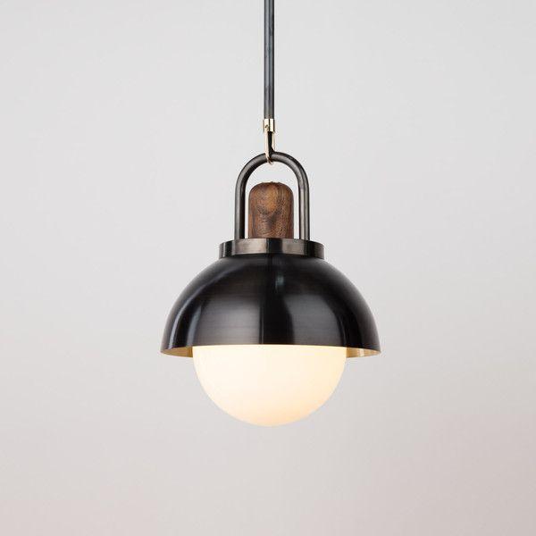 arc dome pendant allied maker lighting pinterest. Black Bedroom Furniture Sets. Home Design Ideas