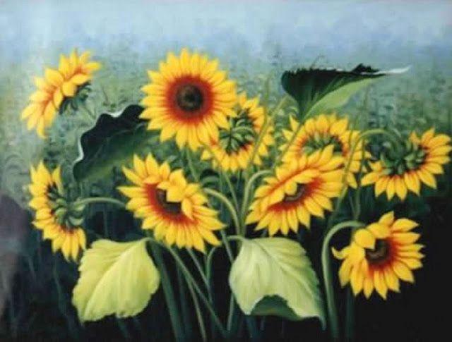 Flores Oleo Modernas Nuevos Cuadros Con Flores Pinturas Modernas