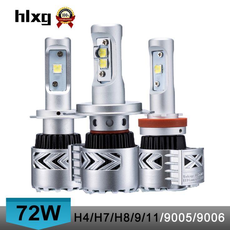 2016 new super bright 12000 lumen 72W H4 high low dual beam 8G car led headlights bulb conversion kit h7/h8/h9/h11/9005/9006/hb3