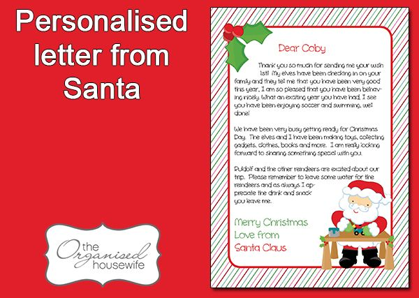 12 best Santa letters images on Pinterest Letter from santa - microsoft word santa letter template