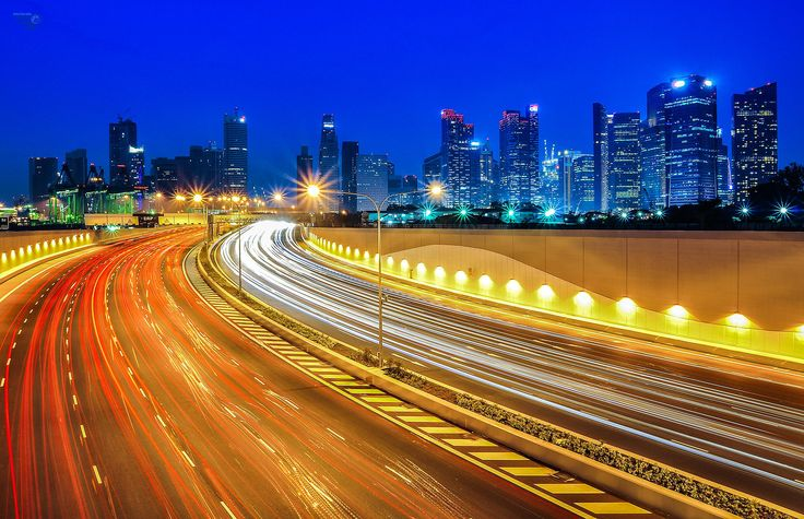 Marina Coastal Expressway (MCE) by Phaultography  on 500px