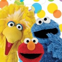 Sesame Street Party Bags #partysupplies