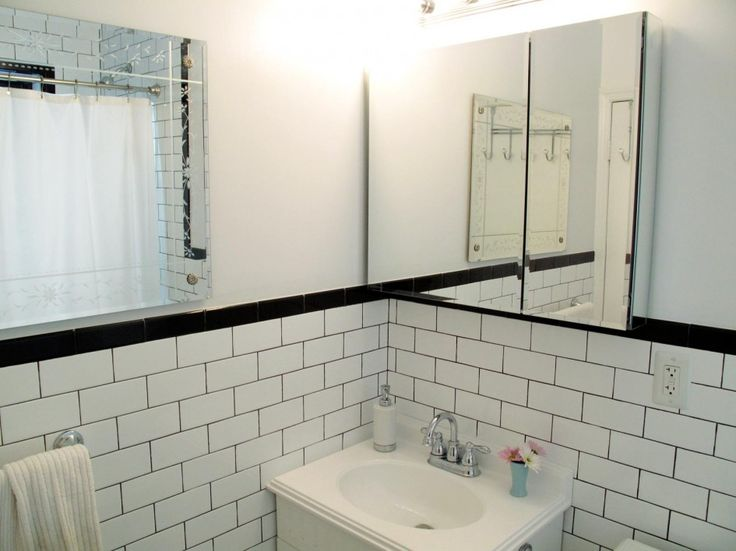 Black And White Retro Bathrooms 339 best bathroom design images on pinterest | black and white