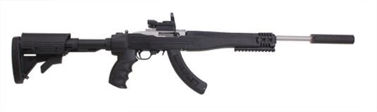 Ruger 10/22 Tactical with I-Tac Folding Stock, Apex Suppressor Package
