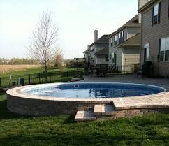 54 best semi inground pools images on pinterest semi for Pool design 101