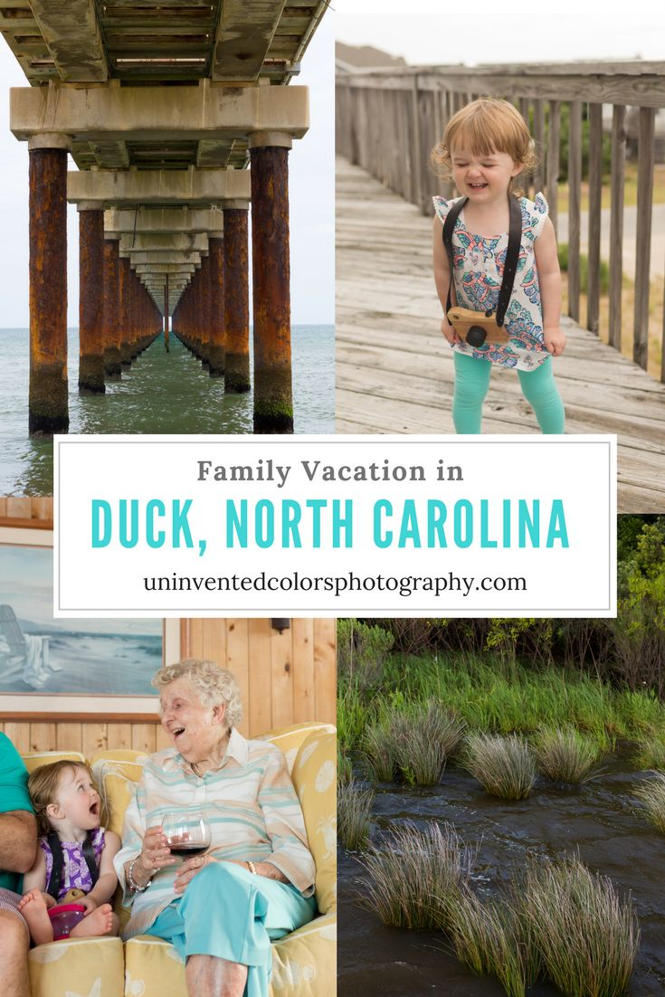 Family Vacation in Duck, North Carolina - Outer Banks Vacation photos and travelogue