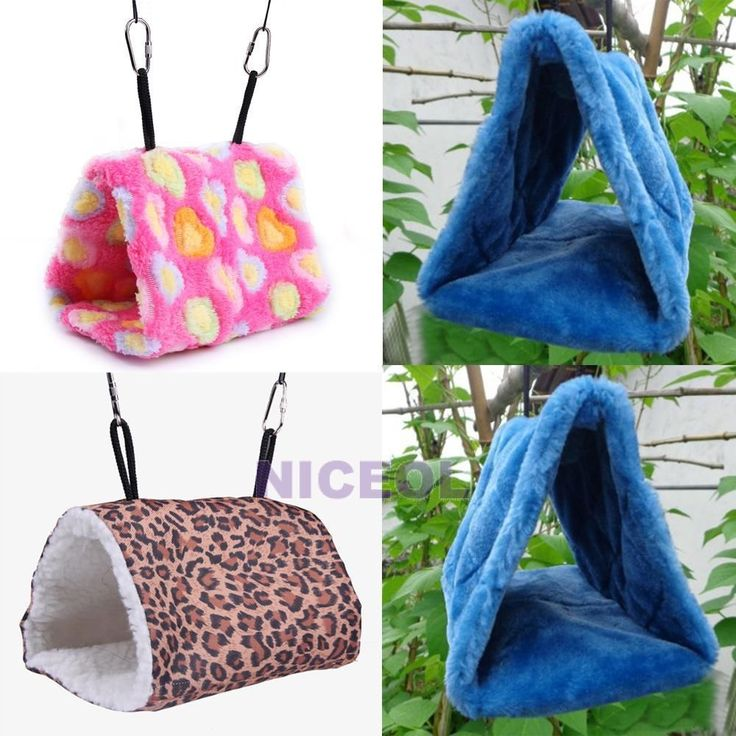 1 x Bird Hammock. This Fuzzy Nest gives your lovely parrots or birds a warm and comfortable hut to rest. Thick plush fabrics provide the good place for the pets. Easy and portable to hang with the bilateral hooks.