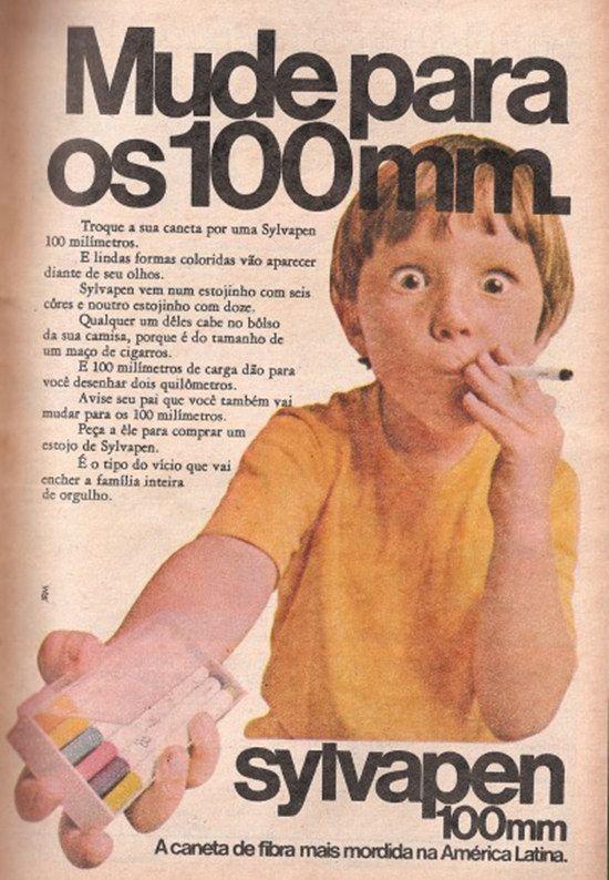 E a conviver com anúncios de produtos que imitavam cigarros para a gente, também. | 16 memórias que farão você se perguntar como sobreviveu à infância