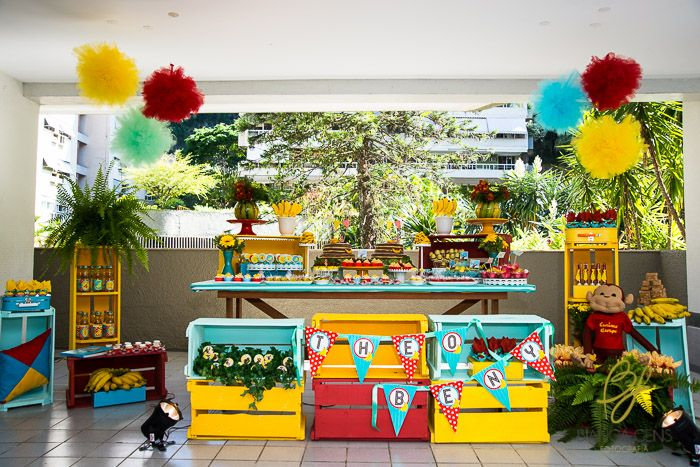 13 best images about Curious George Party por Madame Tutu ...