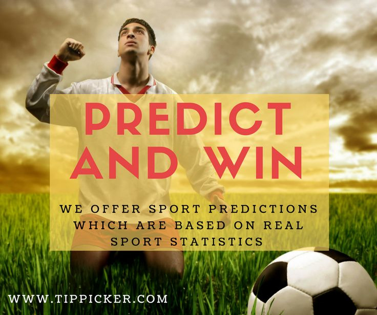 We offer sports predictions which are based on #sports statistics and hand-picked by our full-time professionals. Predict and win now @ www.tippicker.com
