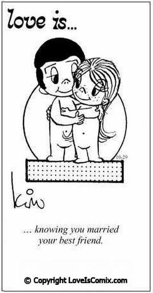 Love is... Comic for Sun, Apr 04, 2010