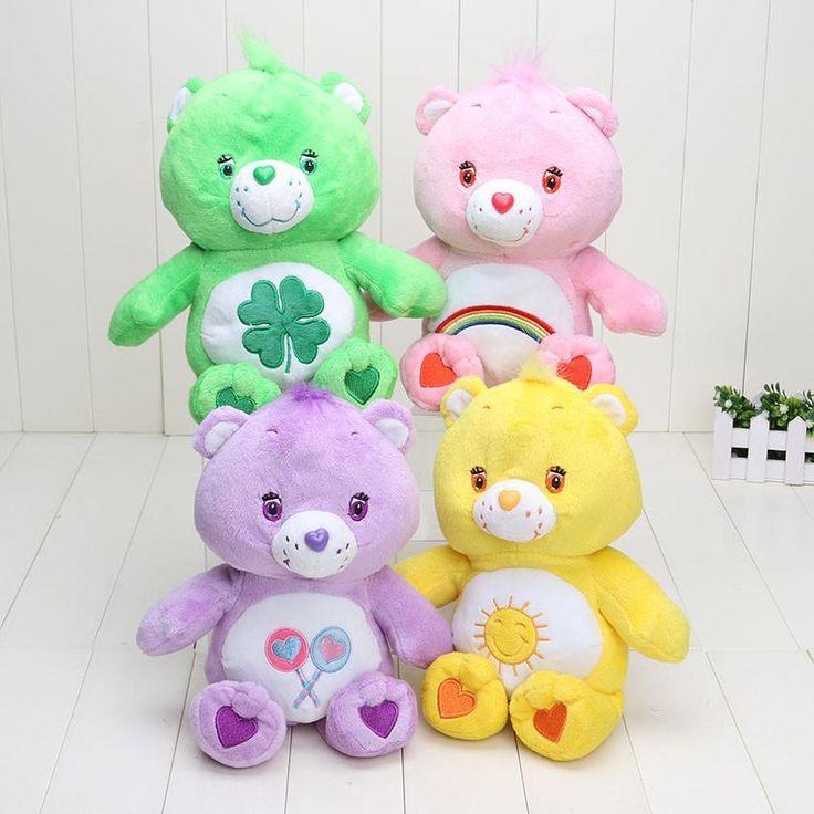 4colors 30cm Plush Baby Design Sunshine rainbow Care Bear NEW green pink purple yellow plush figure bear toys