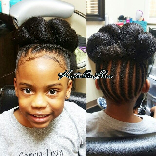 Natural Kids Hairstyle