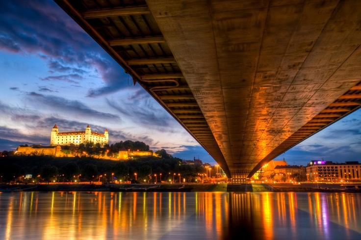 new bridge bratislava hdr