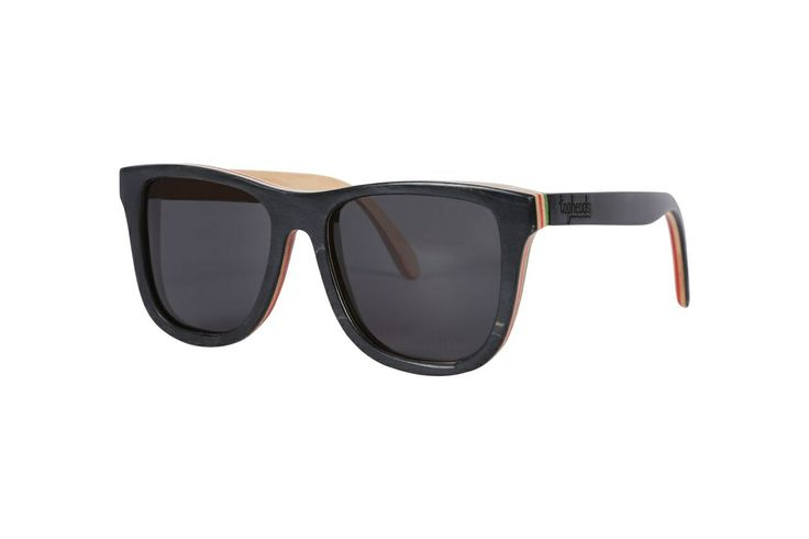 The 'Rosco' | Skate Shades | Made from recycled skateboard decks | Available next week!  www.topheads.com.au