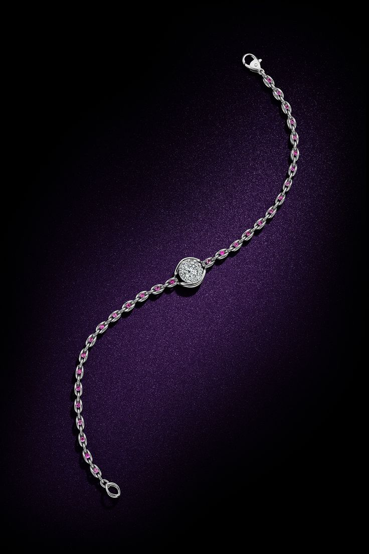Diamonds by kathy ireland Eternita Zaffiro Rosa bracelet